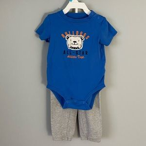 Carter's 2-piece onesie and pants outfit